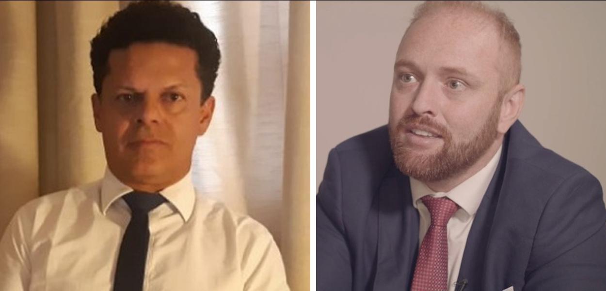 Advogado Ariovaldo Moreira e Walter Delgatti