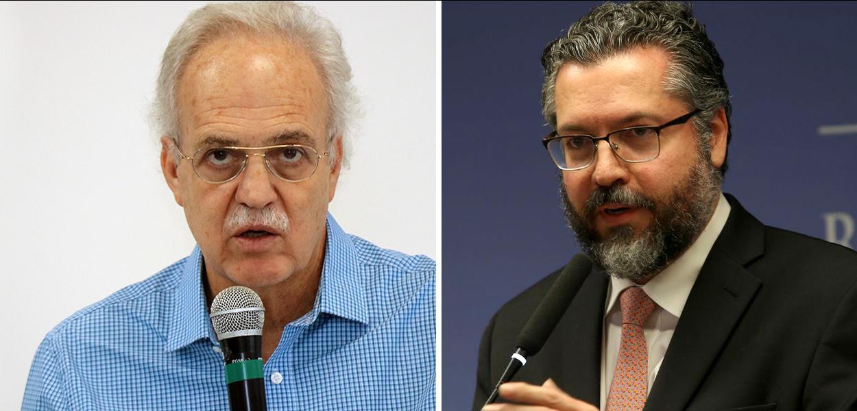 Carlos Nobre e Ernesto Araújo