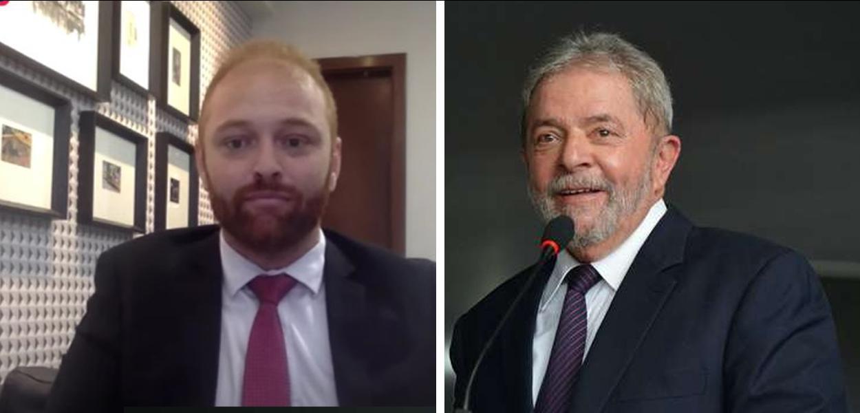 Walter Delgatti e Lula