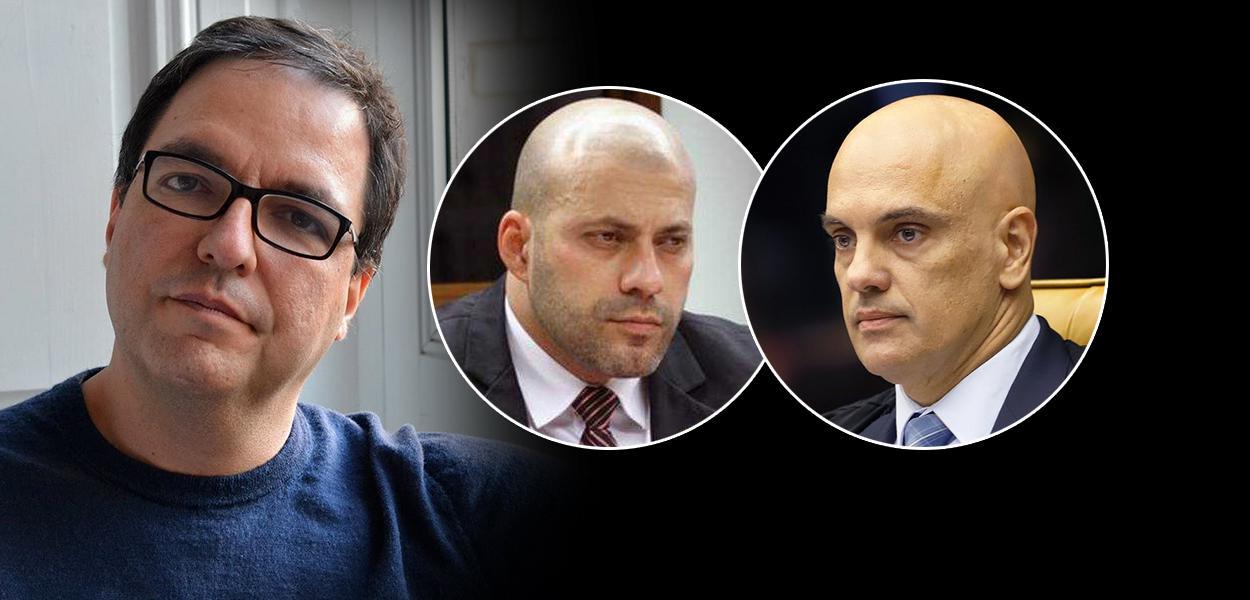 Luis Felipe Miguel, Daniel Silveira e Alexandre de Moraes