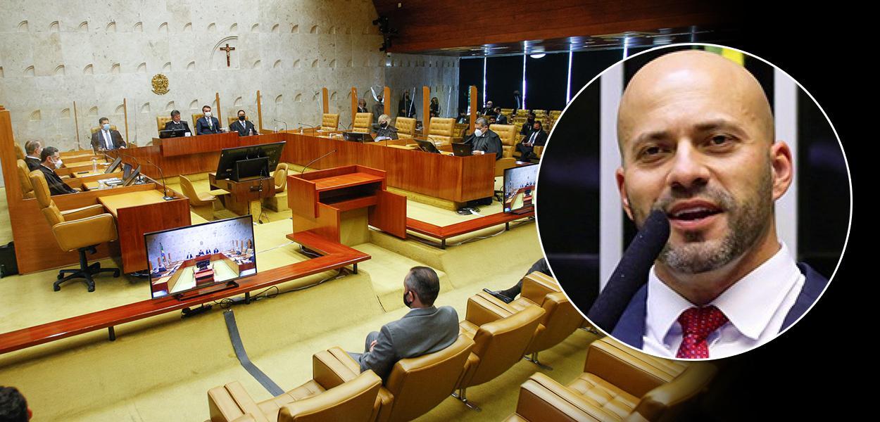 STF e o deputado Daniel Silveira