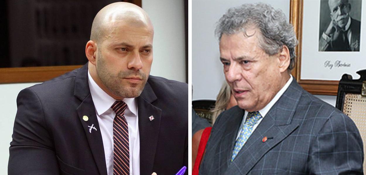 Daniel Silveira e Técio Lins e Silva