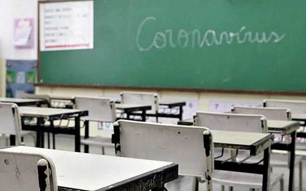 Casos da Covid-19 disparam nas escolas de SP