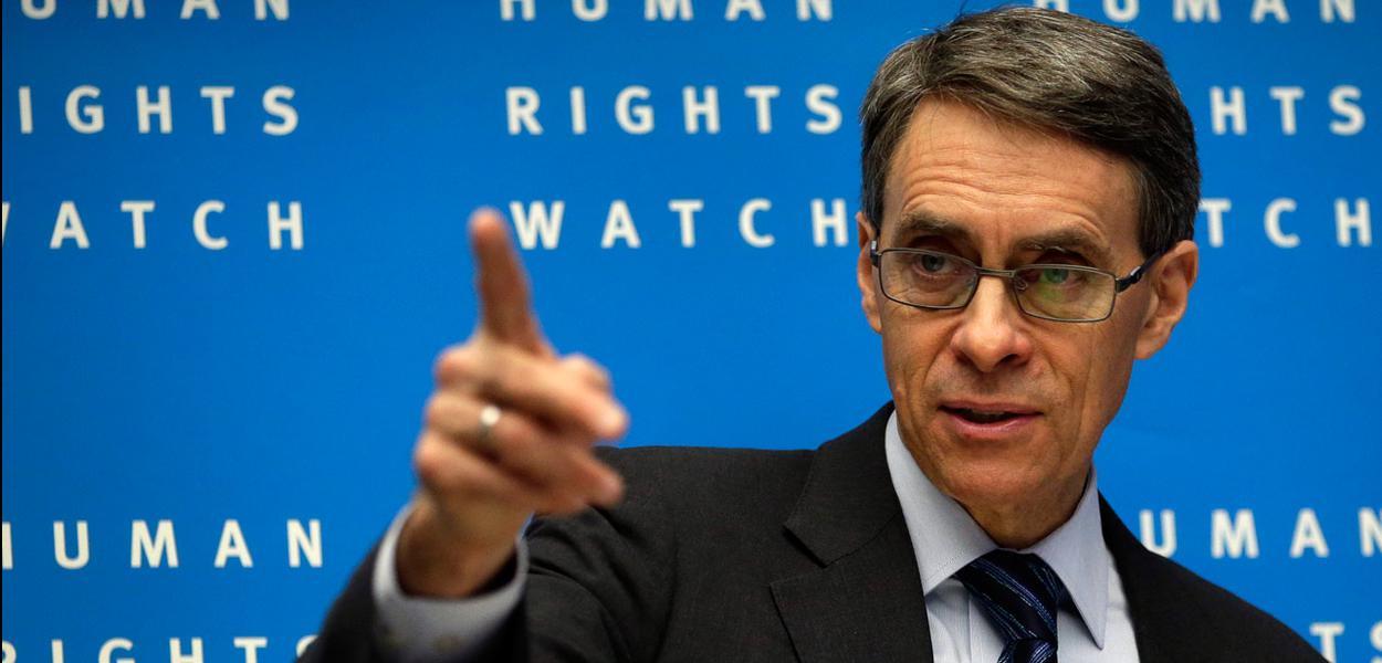 Kenneth Roth, diretor-executivo da entidade Human Rights Watch