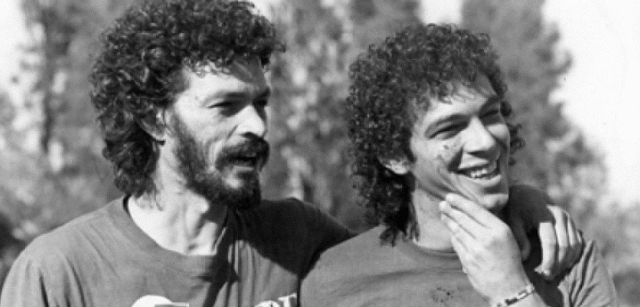Sócrates e Walter Casagrande