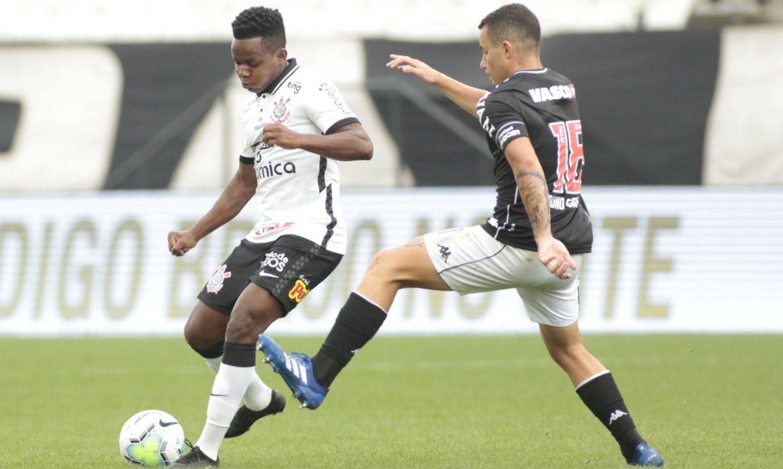 Corinthians e Vasco ficam no 0 a 0