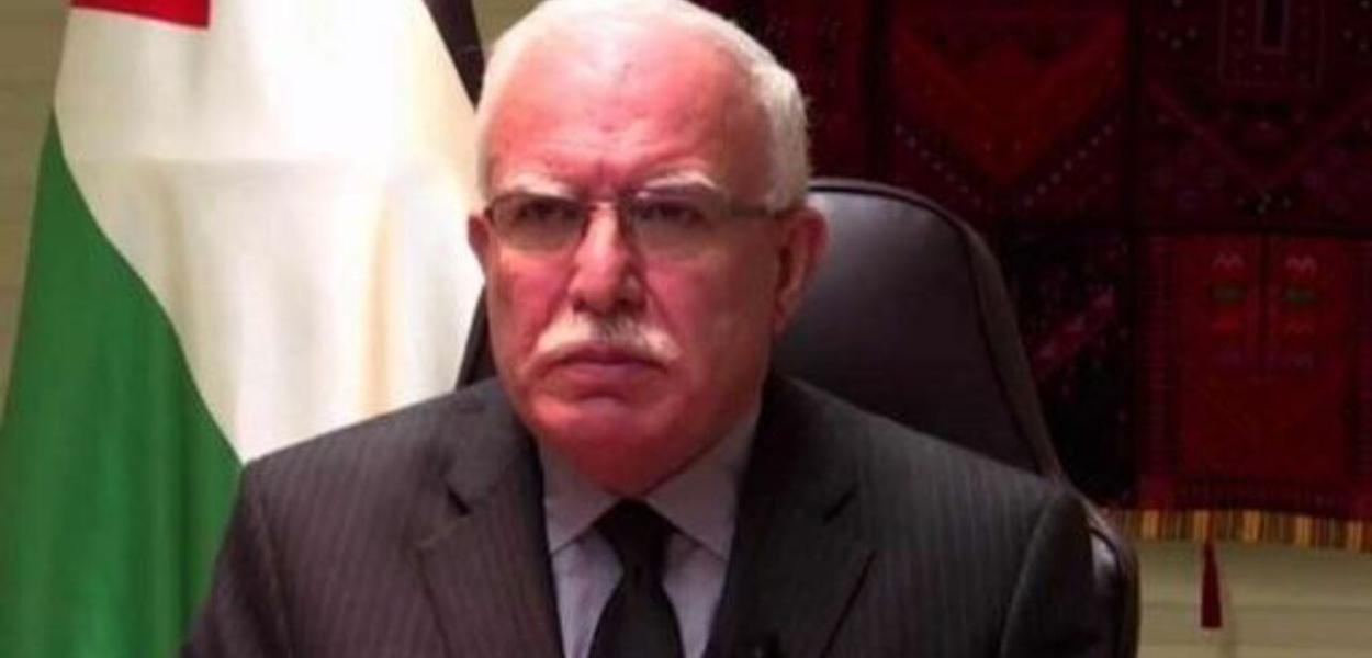 Riyad al-Malki, chanceler palestino