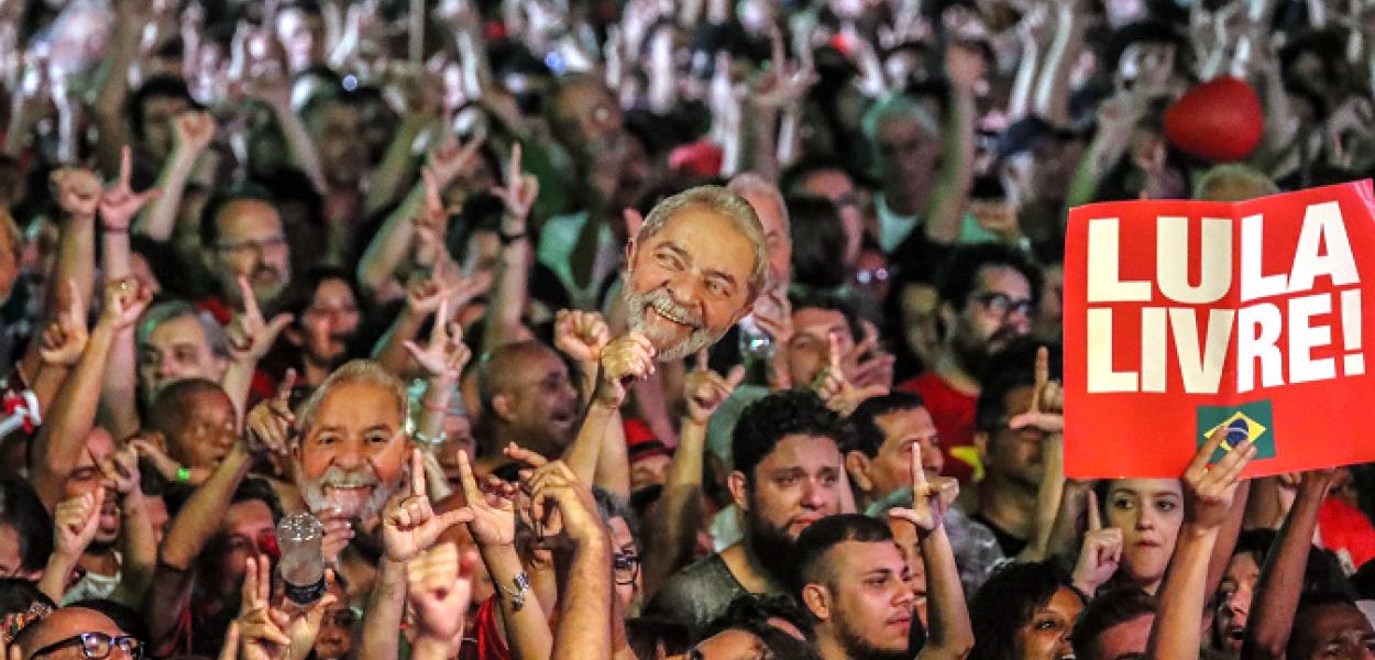Manifestação Lula Livre