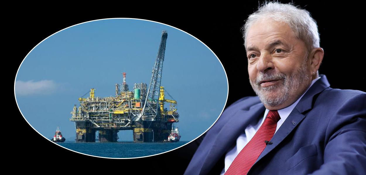 Ex-presidente Lula e a plataforma da Petrobrás