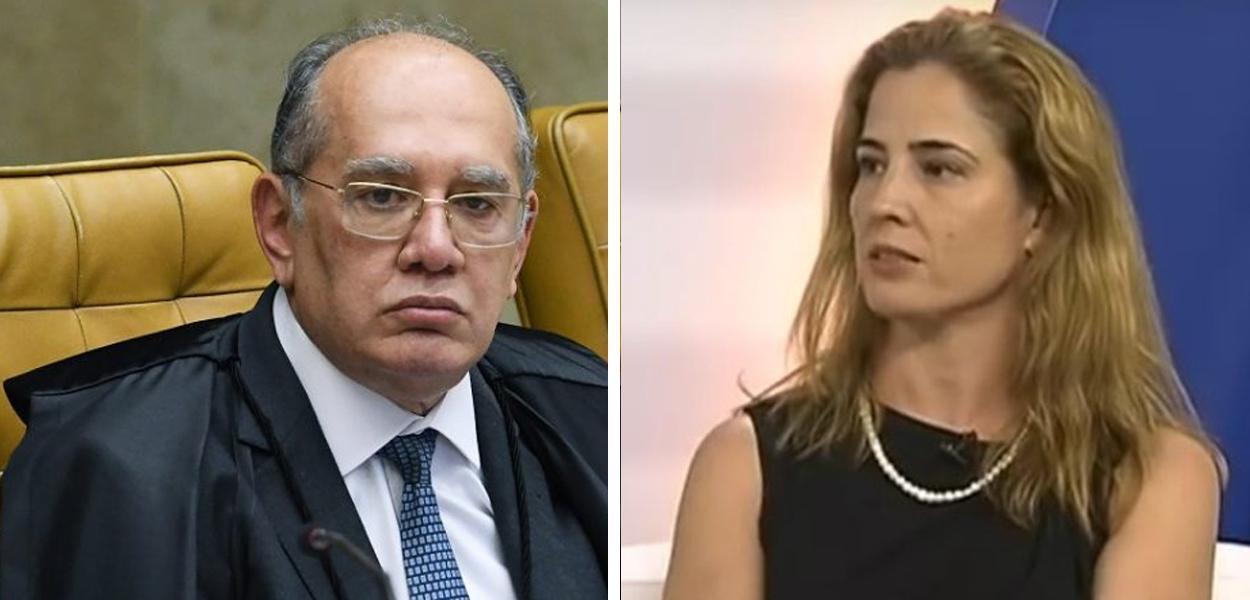 Gilmar Mendes e Gabriela Hardt