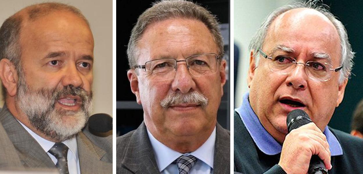 João Vaccari Neto, Luiz Antônio Bonat e Renato Duque
