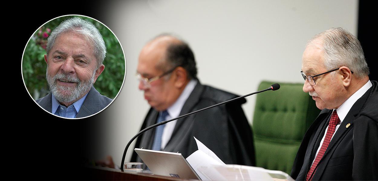 Gilmar Mendes na sessão da Segunda Turma que julga suspeição de Moro