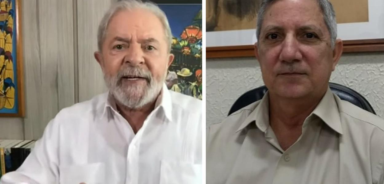 Lula e Eduardo José Barbosa