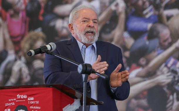 O ex-presidente Lula discursou na última quarta (10), na sede do Sindicado dos Metalúrgicos