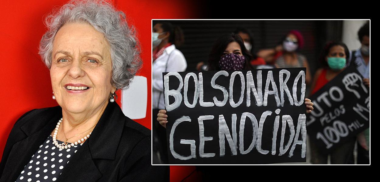 """""""É fundamental que as mulheres sejam protagonistas do Fora Bolsonaro e da reconstrução do Brasil"""", diz Eleonora Menicucci"""