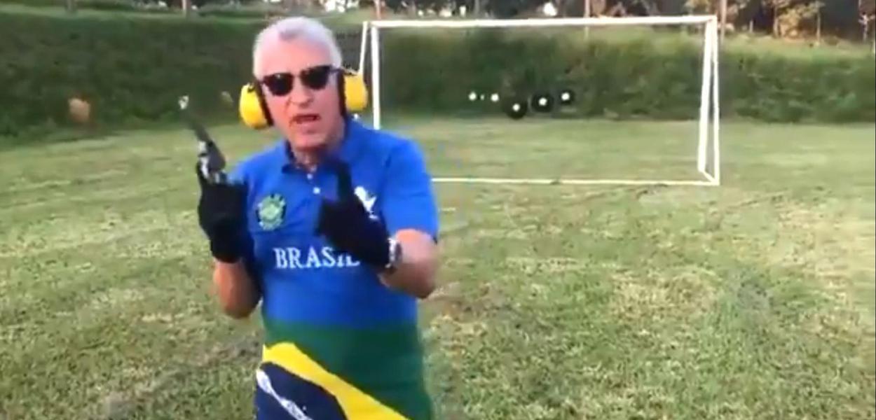 Empresário bolsonarista José Sabatini ameaça o ex-presidente Lula