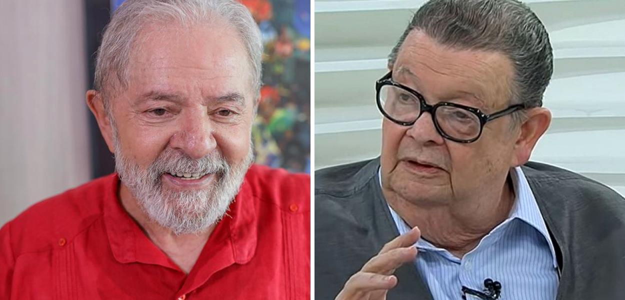 Lula e Delfim Netto