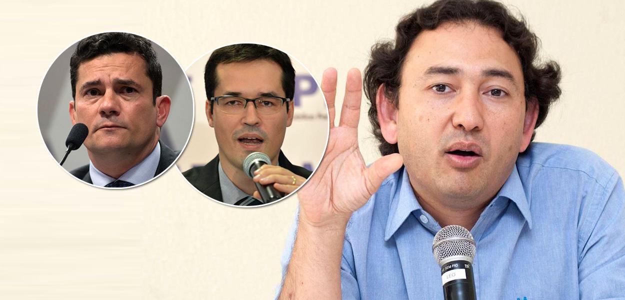 Sergio Moro, Deltan Dallagnol e Fausto Augusto Junior