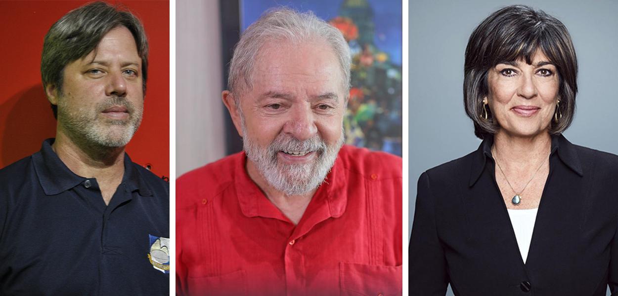 Brian Mier, Lula e Christiane Amanpour