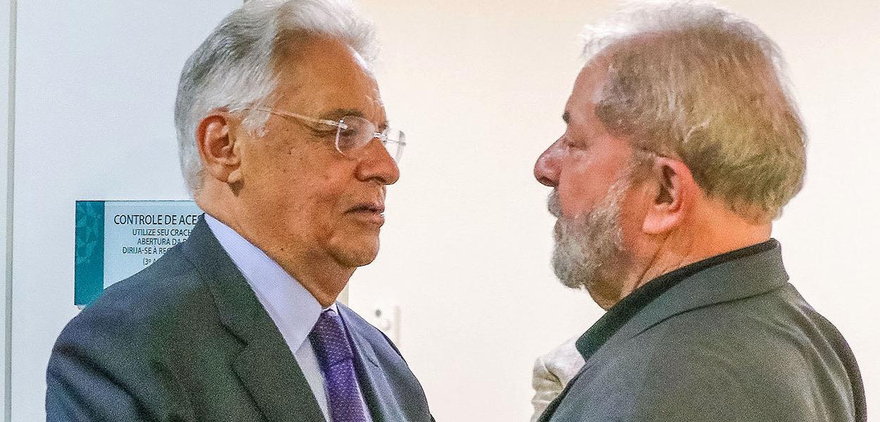 Fernando Henrique Cardoso e Lula