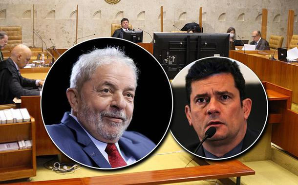STF, ex-presidente Lula e Sérgio Moro