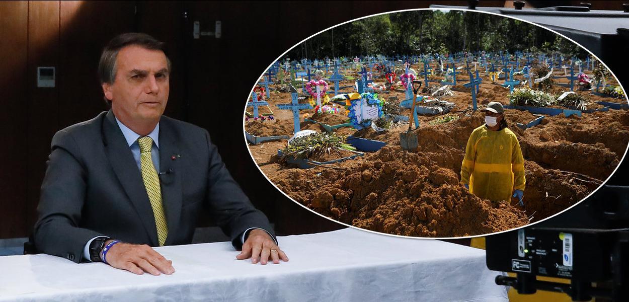 Negacionismo de Bolsonaro e insultos a outros países dificultam ajuda ao Brasil na tragédia sanitária