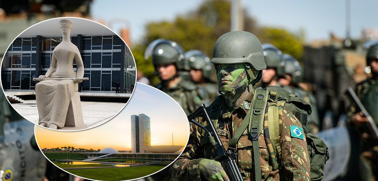 STF e as Forças Armadas