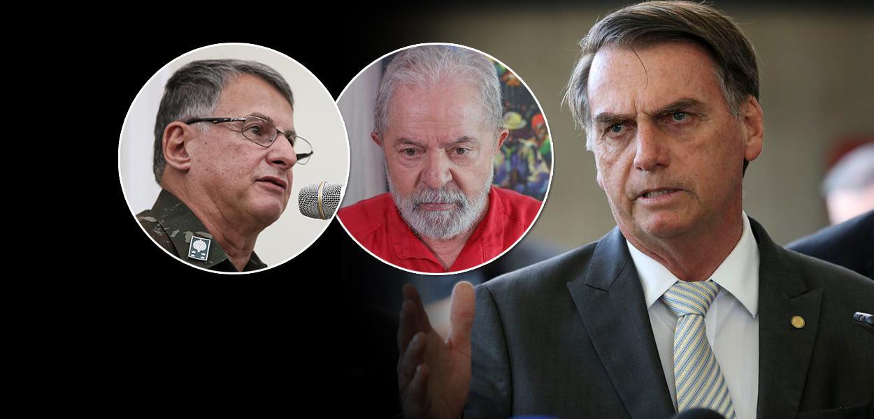 Edson Pujol, ex-presidente Lula e Jair Bolsonaro