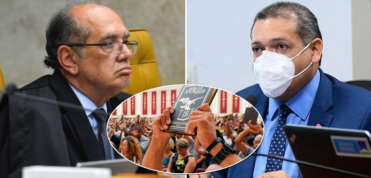 Ministros do STF Gilmar Mendes e Kassio Nunes Marques