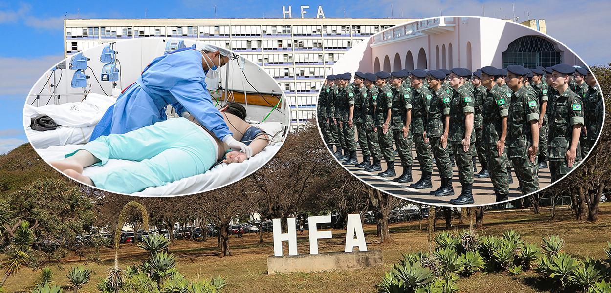TCU determinou que Hospitais das Forças Armadas retirem sigilos sobre dados da pandemia