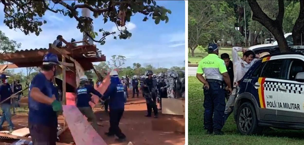Ecossocialista Thiago Ávila foi preso pela PM-DF após resistir ao despejo de famílias na ocupação do CCBB, na capital federal