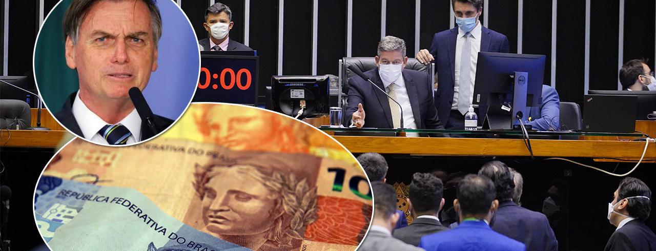 Bolsonaro-câmara-dinheiro-orçamento