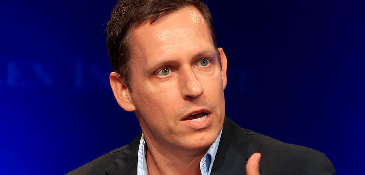Bilionário alemão Peter Thiel, cofundador do serviço de pagamentos on-line PayPal