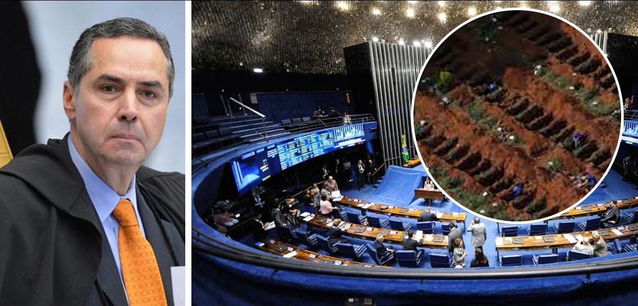 Reunião do ministro Luís Roberto Barroso com os presidentes dos TRs