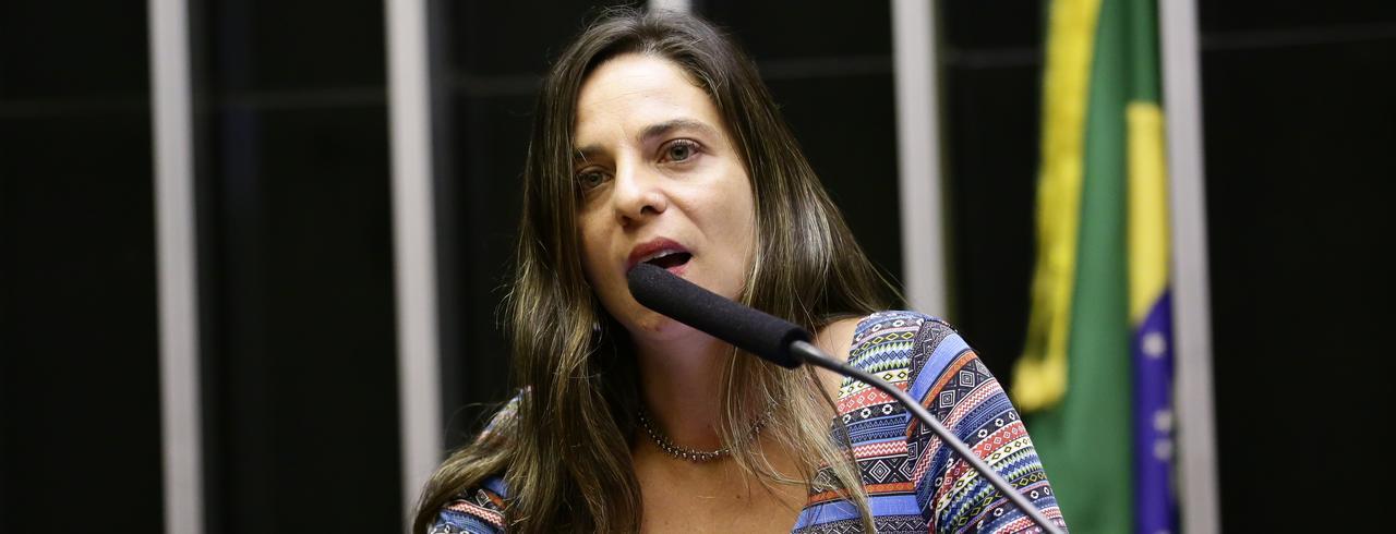 Deputada Fernanda Melchionna (PSOL-RS)