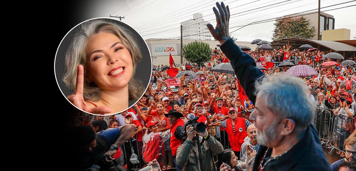 Vereadora Liana Cirne Lins (PT) foi autora de requerimento para voto de aplauso ao ex-presidente Lula