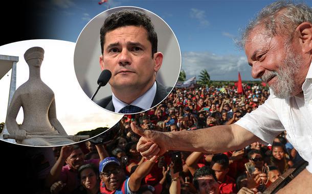STF, Sérgio Moro e o ex-presidente Lula