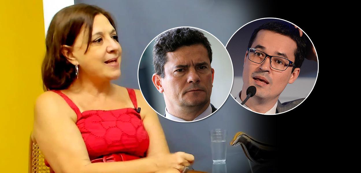 Gisele Cittadino, Sergio Moro e Deltan Dallagnol