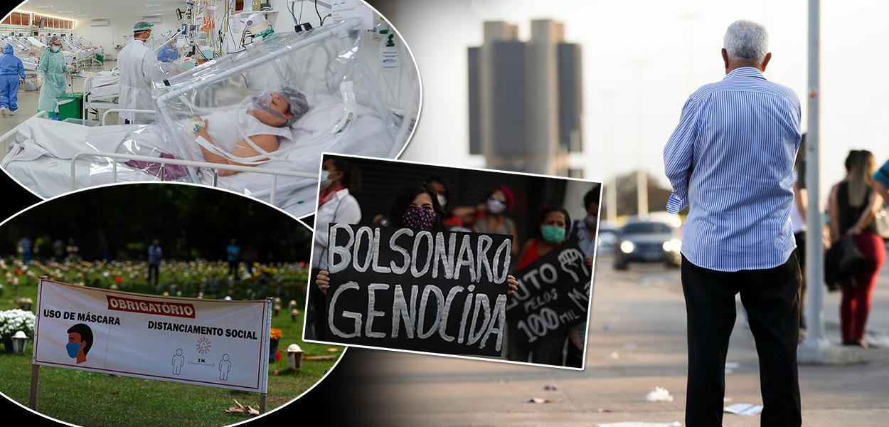 Jair Bolsonaro nega ter amenizado a pandemia