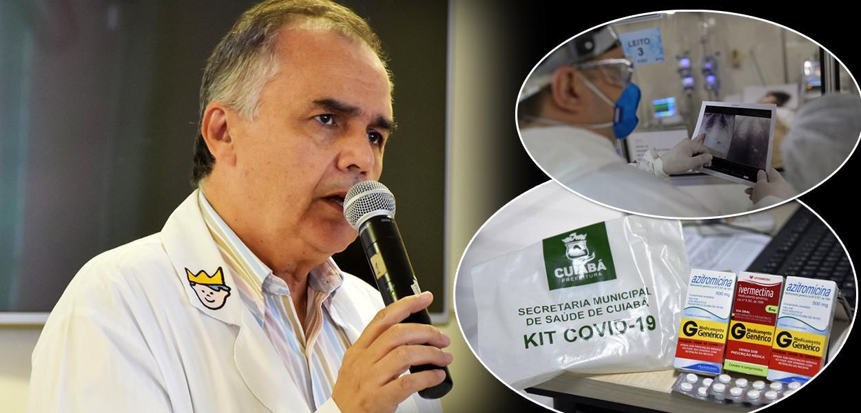 Vice-presidente do Conselho Federal de Medicina (CFM), Donizette Giamberardino Filho