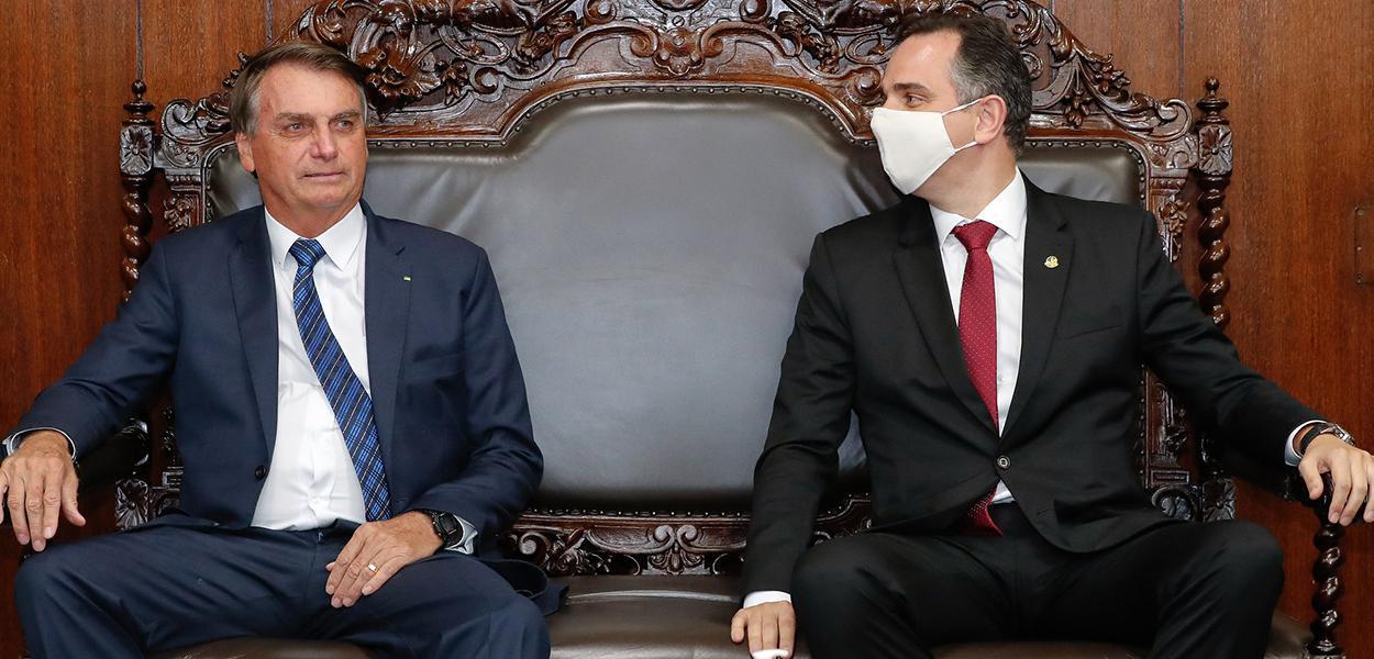 Bolsonaro e Pacheco