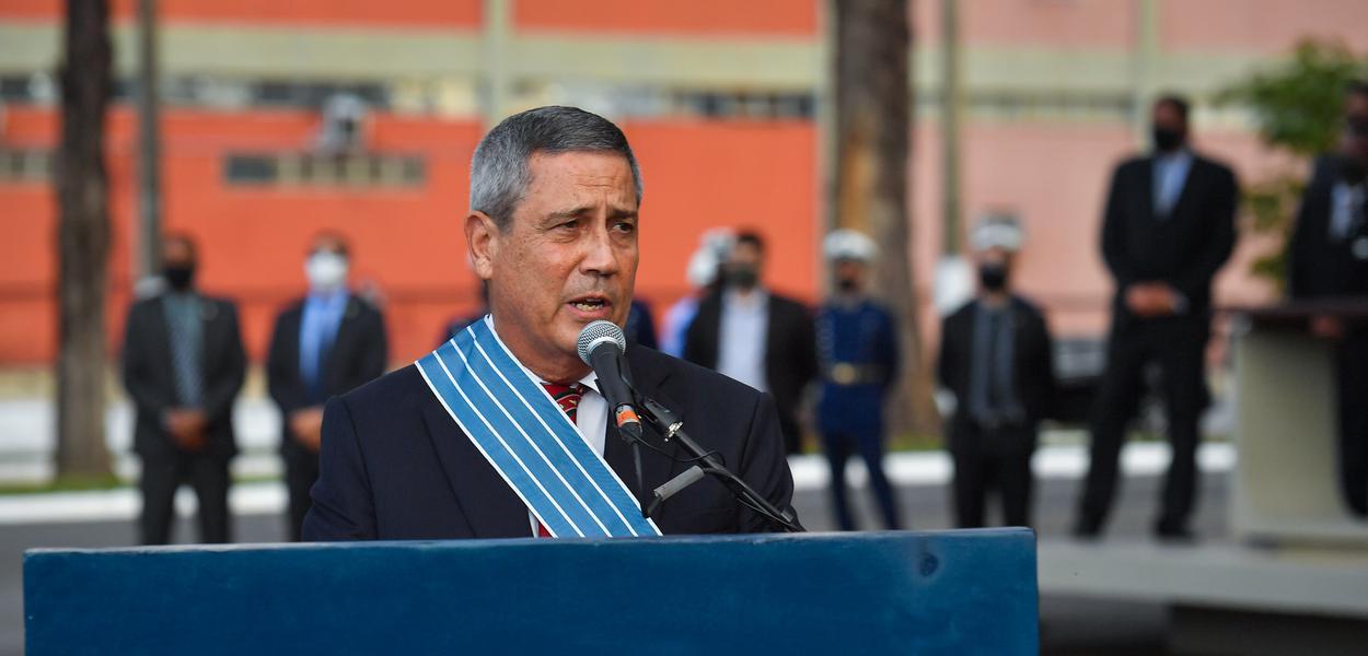 Ministro da Defesa, general Braga Netto