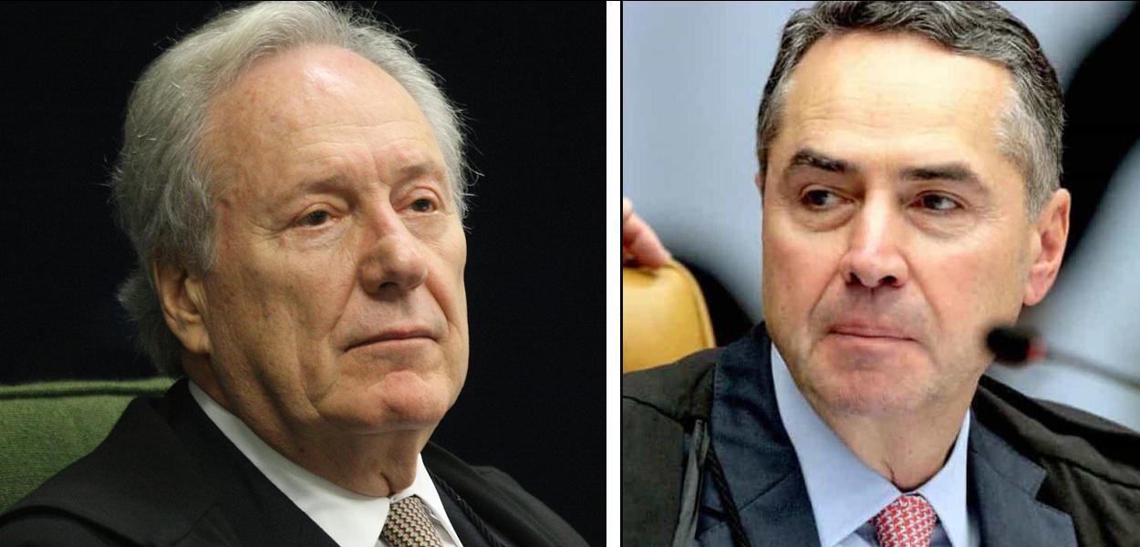 Ricardo Lewandowski e Luís Barroso