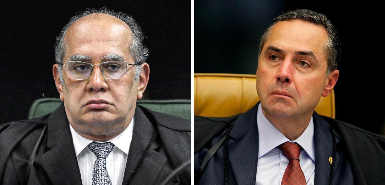Gilmar Mendes e Luís Roberto Barroso