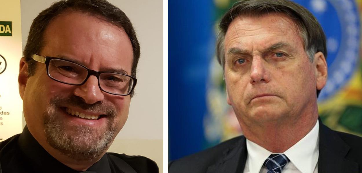 Nelson Nisenbaum e Jair Bolsonaro