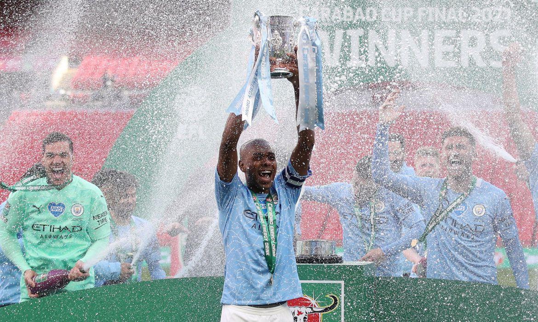 Manchester City vence a Liga Inglesa