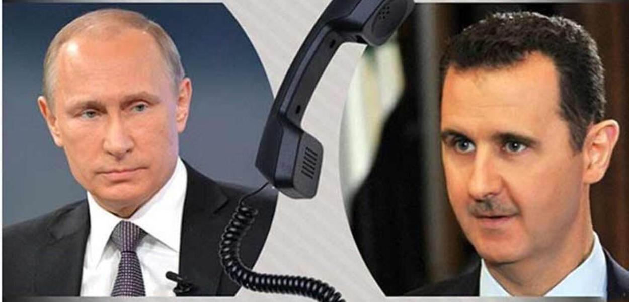 Vladimir Putin e Bashar Assad