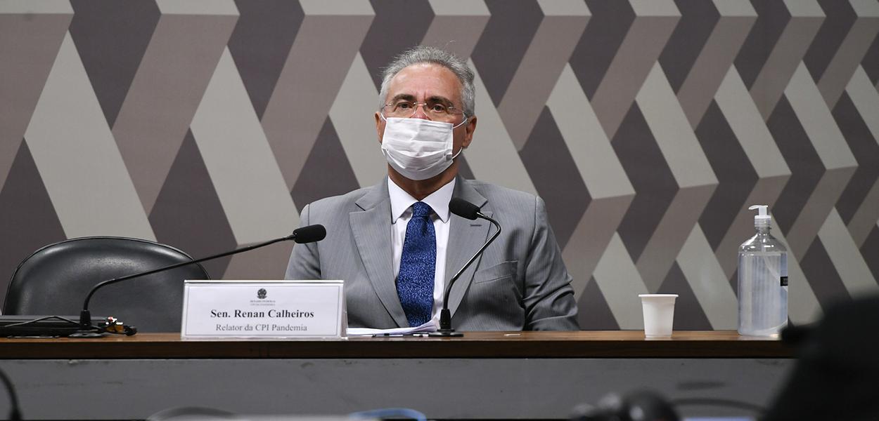 Senador Renan Calheiros na CPI