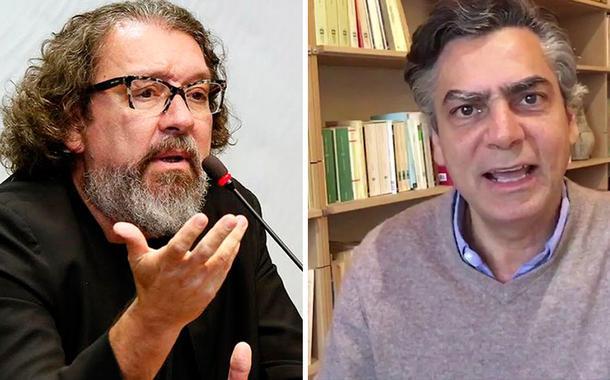 Antônio Carlos de Almeida Castro, o Kakay, e o jornalista Diogo Mainardi