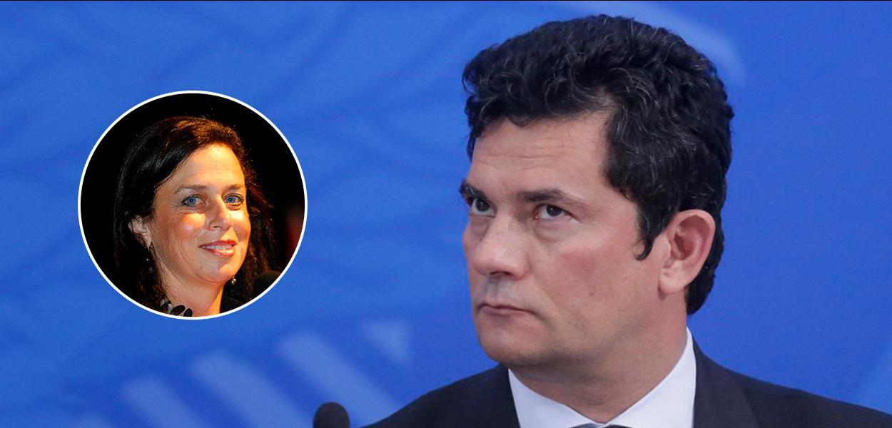 Sergio Moro e Karine Moreno-Taxman